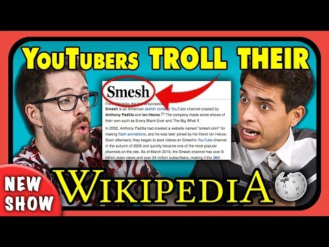 YouTubers Try To Troll Their Own Wikipedia | WikiMEdia (New Show)