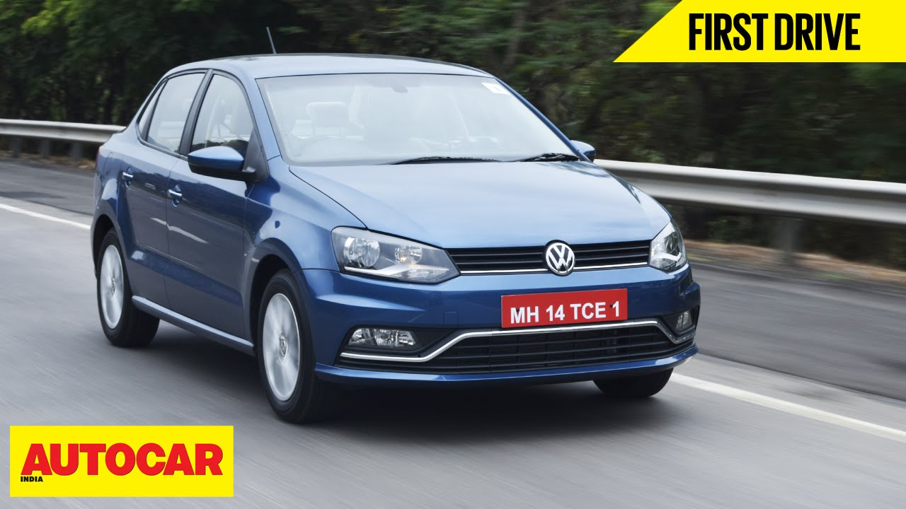 Volkswagen Ameo | First Drive | Autocar India - YouTube