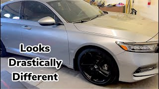 2018-2021 Honda Accord EASIEST mod to drastically change the look