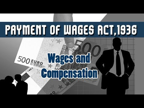 report on wages act 1936 The payment of wages act, 1936 - free download as powerpoint presentation (ppt), pdf file (pdf), text file (txt) or view presentation slides online.