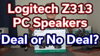 Best $40 PC Speakers? - Logitech Z313 - Unboxing & Review