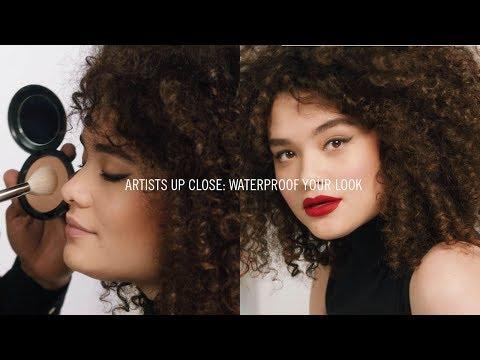 How To: Waterproof Your Look I MAC Tutorial