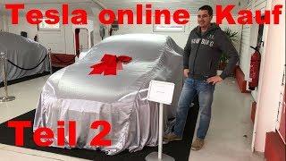 Gebrauchtwagen Online Kauf bei Tesla Teil 2. Abholung des Model S P85D. Besuch bei Horst Lüning