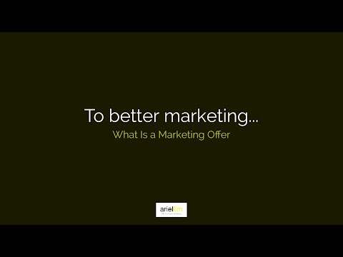 1MMV 023 - What Is a Marketing Offer
