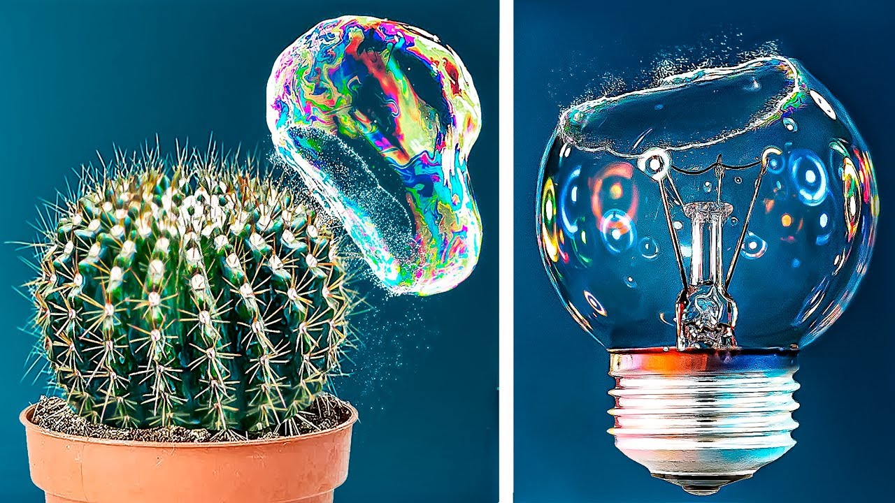 Download 11 Amazing Bubble Tricks in Slow Mo