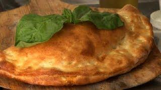 Mozzarella & Ricotta Calzone Recipe : Cooking Italian Style