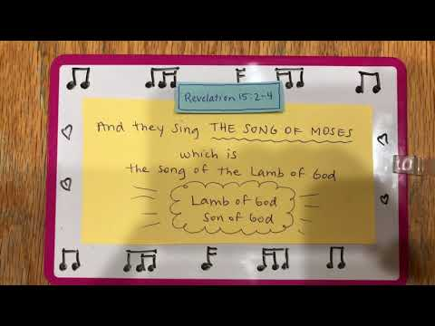 They Sing The Song Of Moses (lyrics)
