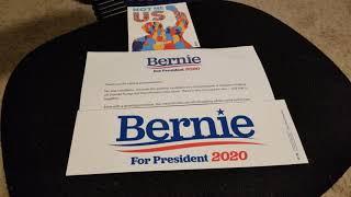 Unmailing Bernie Sanders 'NotMeUs' Bumper Stickers! Bernie vs. Warren/Buttigieg/Biden