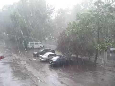 Долгожданный дождь в