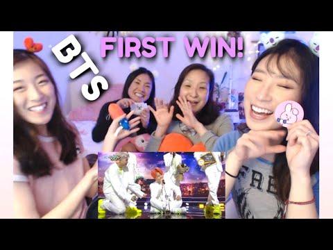 BTS - Dionysus + Boy With Luv (Music Bank) KOREAN MOM & 3 DAUGHTERS REACTION | 뮤직뱅크 방탄소년단