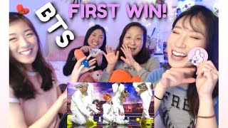 BTS - Dionysus + Boy With Luv (Music Bank) KOREAN MOM & DAUGHTERS REACTION | 뮤직뱅크 방탄소년단