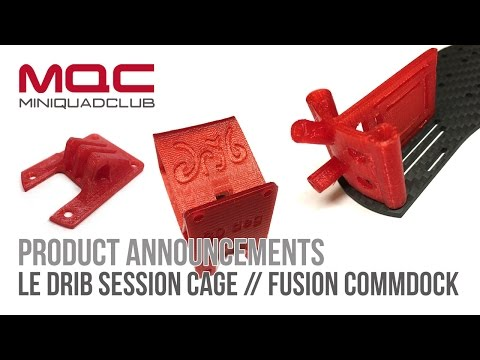 Product Announcements: Le Drib Session Cage // Fusion CommDock