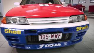 NISSAN GTR, GODZILLA, NISMO, GTR Tribute race car, Skyline R32 GTR.