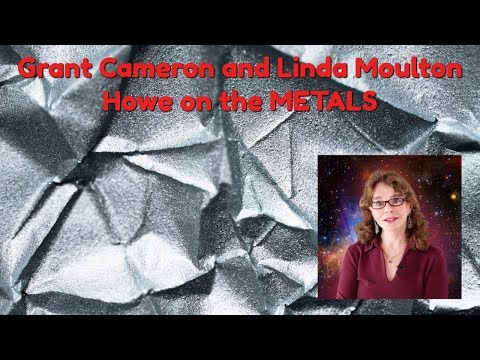 Linda Moulton Howe and Grant Cameron talk about UFO parts - the METALS