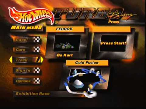 Hot Wheels Turbo Racing N64 All Tracks