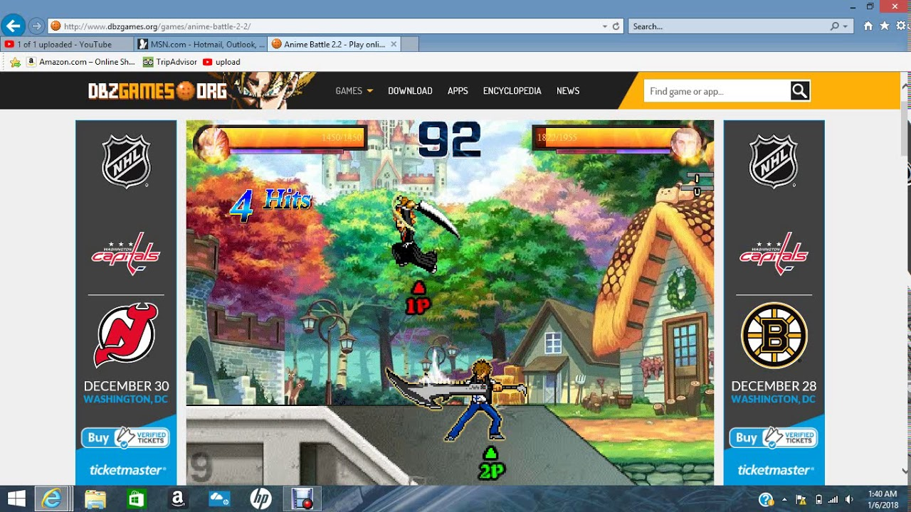 Anime Battle Game Play Site Link In Desription Youtube