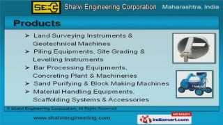 Construction Machines & Instruments  by Shalvi Engineering Corporation, Navi Mumbai