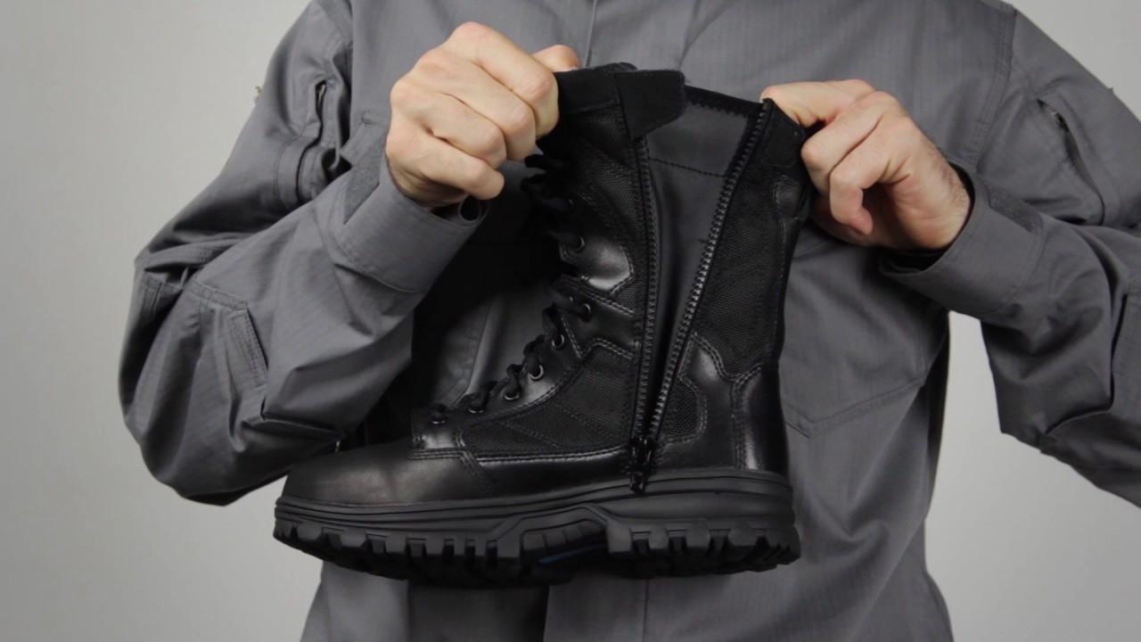 ca8889b91df 5.11 Tactical - 12312 EVO 8 inch Water Proof Side Zip Boot