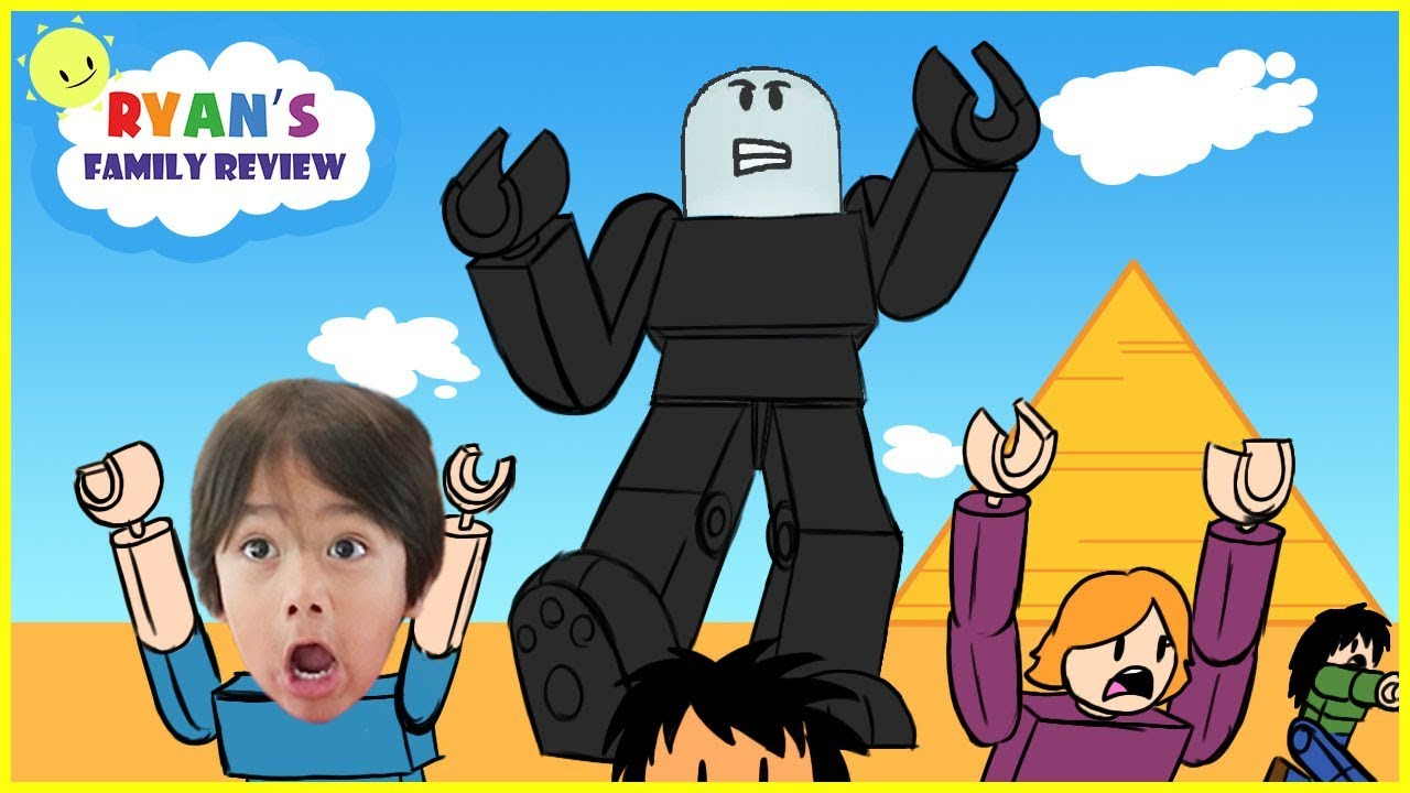 Ryan Toy Video Roblox Roblox Survive The Giant Let S Play With Ryan S Family Review Youtube