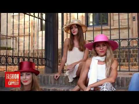 FASHION INTERNAZIONALE DEL CAPPELLO 2017 - SECONDA PARTE - YouTube 1cf3383f1b7e