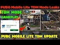 PUBG Mobile Lite - TDM Mode New Confirm Leaks (0.15.0) New Leaks & PlayStore Update