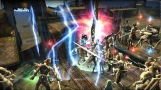 Aika War Realm v Realm Fantasy MMORPG official trailer PC video game