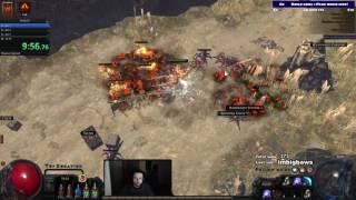 HC Templar Lvl 1-70 under 6 hours! Hardcore breach SSF flameblast totem Path of exile POE