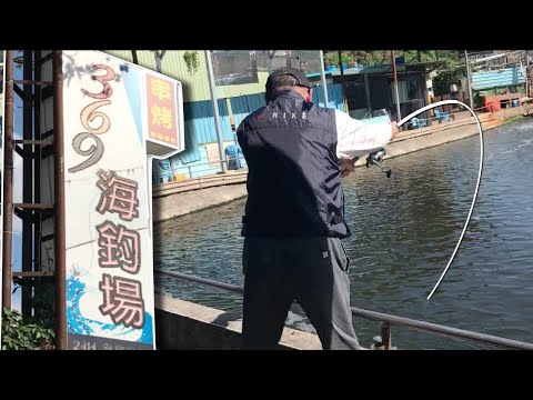 Singaporean Vs Taiwanese Fishermen @ Taipei 369 Fishing Pond