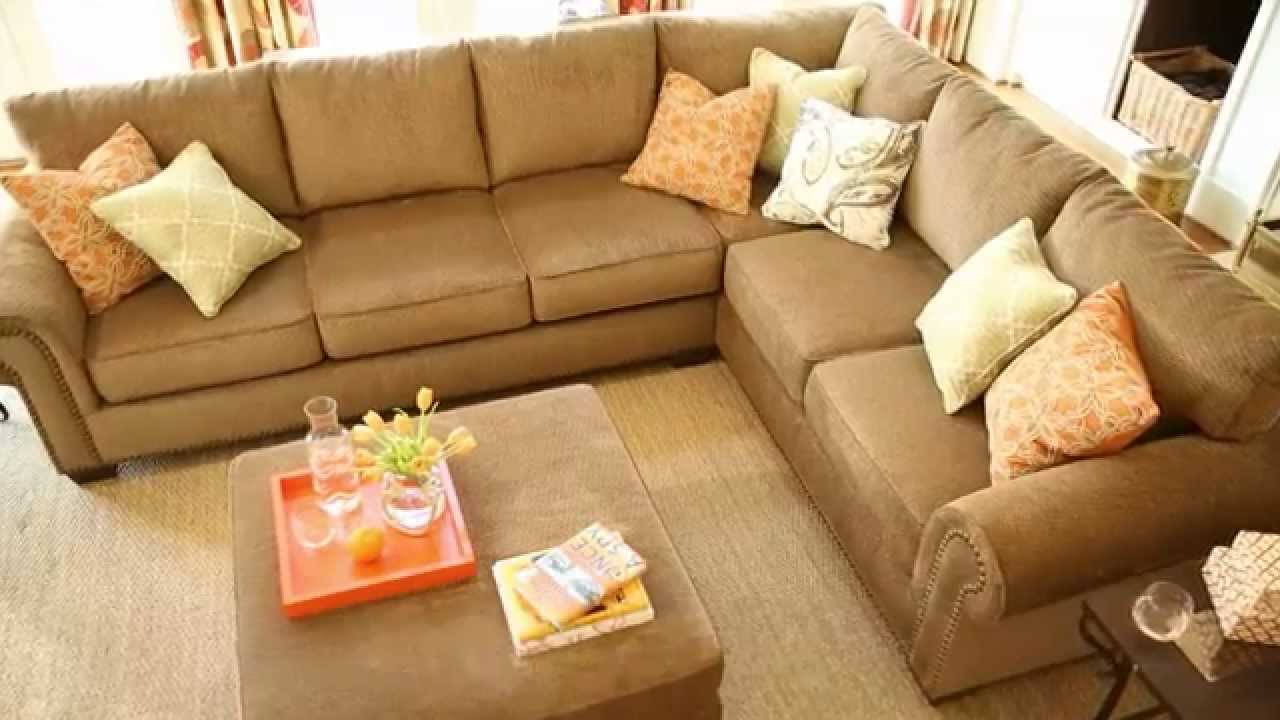 Ashley Furniture 2 Piece Sectional ashley furniture homestore - courtmeyers sectional - youtube