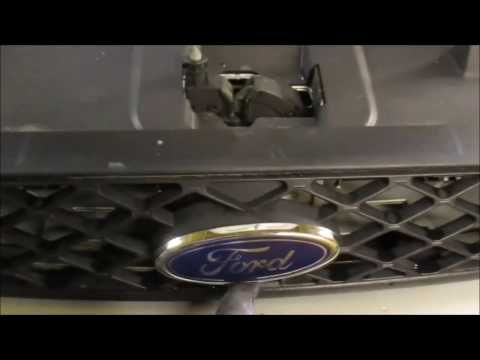Ford Focus 2002 how to check you engine oil level coolant level and windscreen fluid