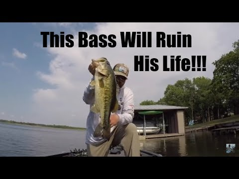 Lake Athens Bass Fishing: Life Risking Challenge!!!