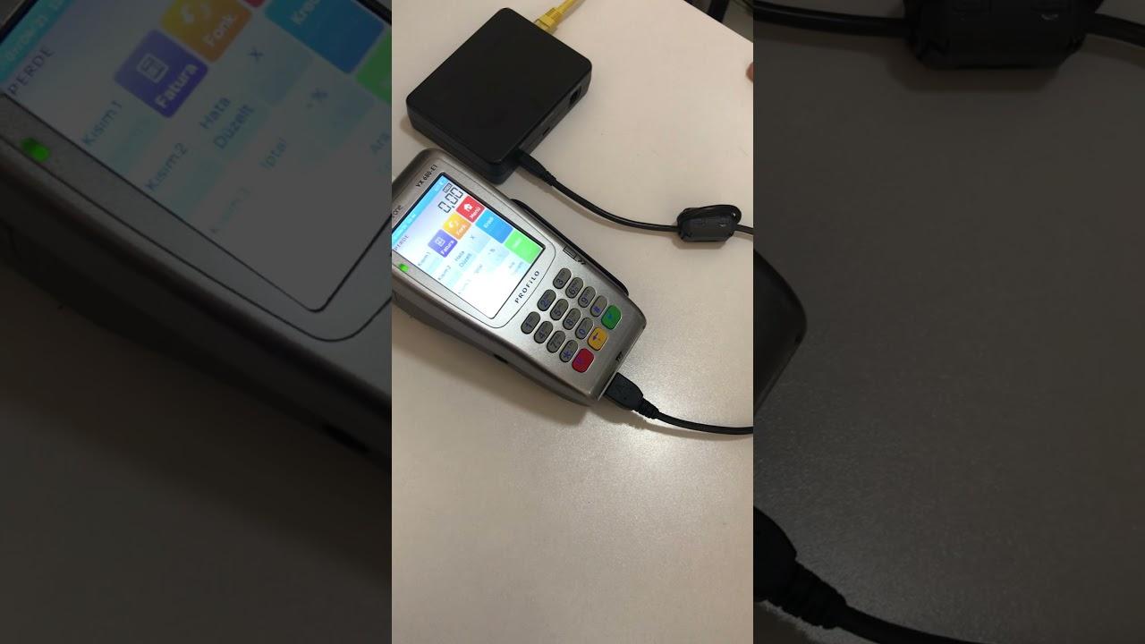 PROFİLO VERİFONE VX680-E1 yazarkasapos en basit kullanım anlatım videosu