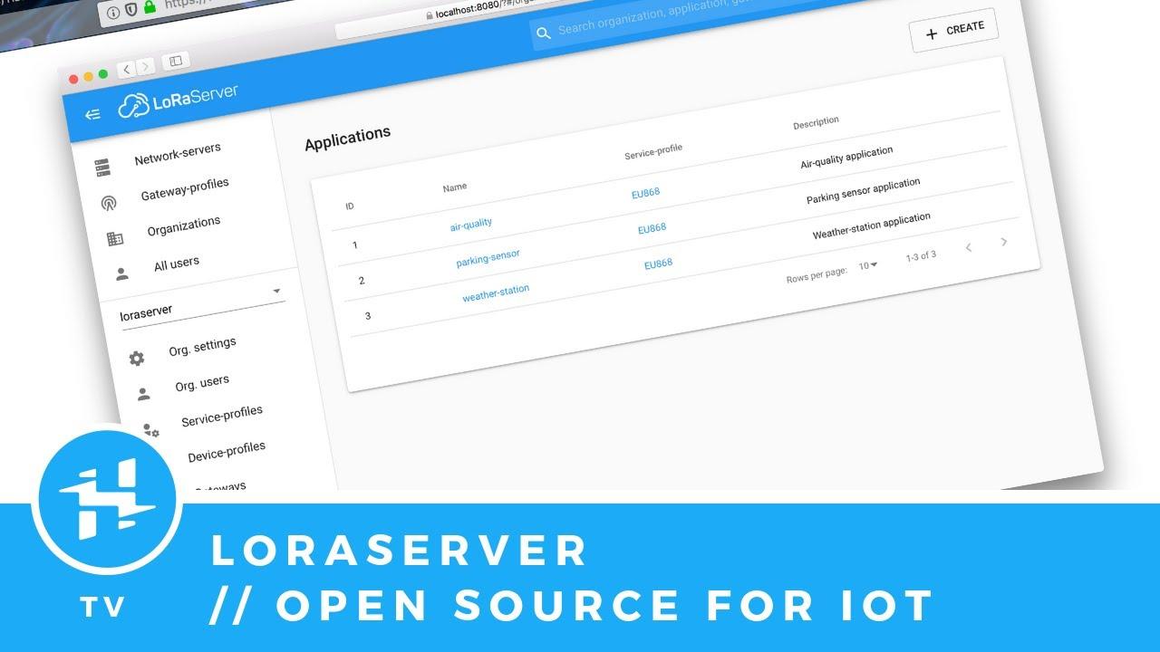 LoRa Server: Your DIY IoT Server