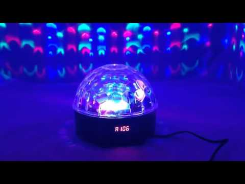 Disco LED light Ball With music player