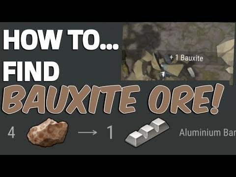 HOW TO FIND BAUXITE ORE - Last day on Earth: Survival
