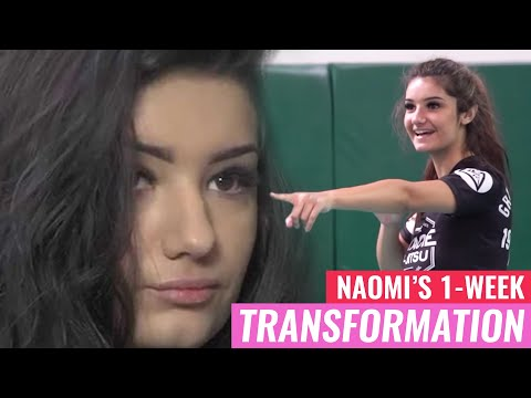 Naomi's 1-Week Transformation (Gracie Bullyproof)