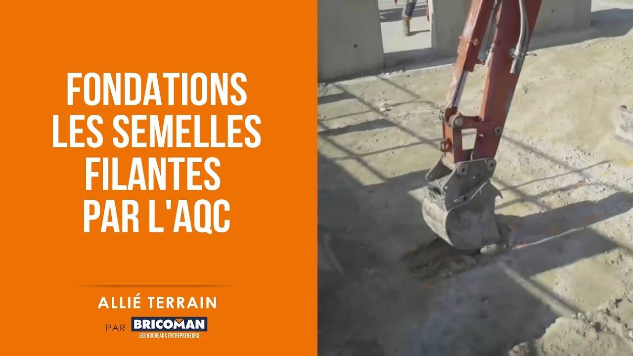 Allié Terrain : Fondations - Les semelles filantes par l ...