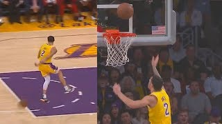 Lonzo Ball Shocks Lakers With Dumbest Plays After Missing & Passing Up Wide Open Layups!