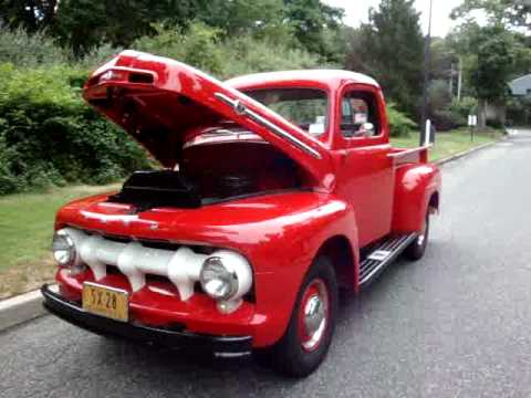 16 995 1952 Ford F1 Pick Up For Sale Restored Like New Sold