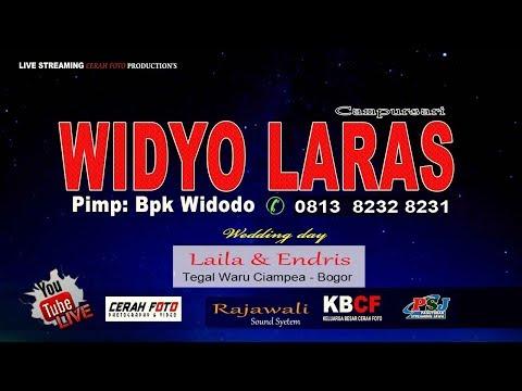 Live Streaming// Campursari WIDYO LARAS// Pernikahan LAILA & ENDRIS// Ciampea - Bogor 02