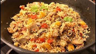 Супер Быстрый Ужин за 15 минут! Ужин для похудения!