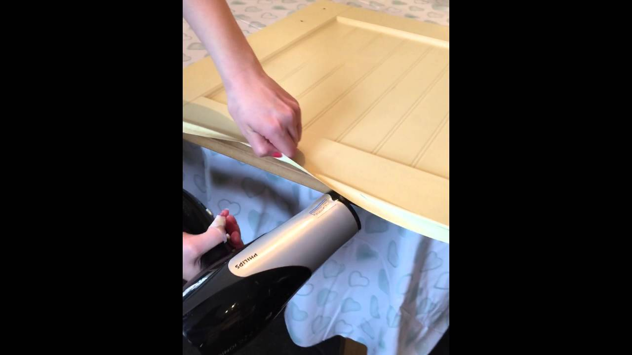 How To Make Old Vinyl Plastic Covered Kitchen Cupboards Cupboard