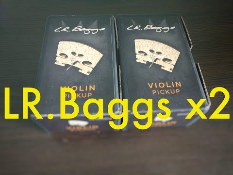 Unboxing: LR Baggs Violin Pickup (ordered from Ebay)