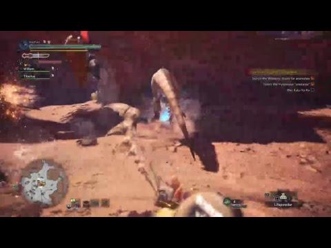 Hunter-Senpai, hunts w/Will-o. Monster Hunter World thumbnail
