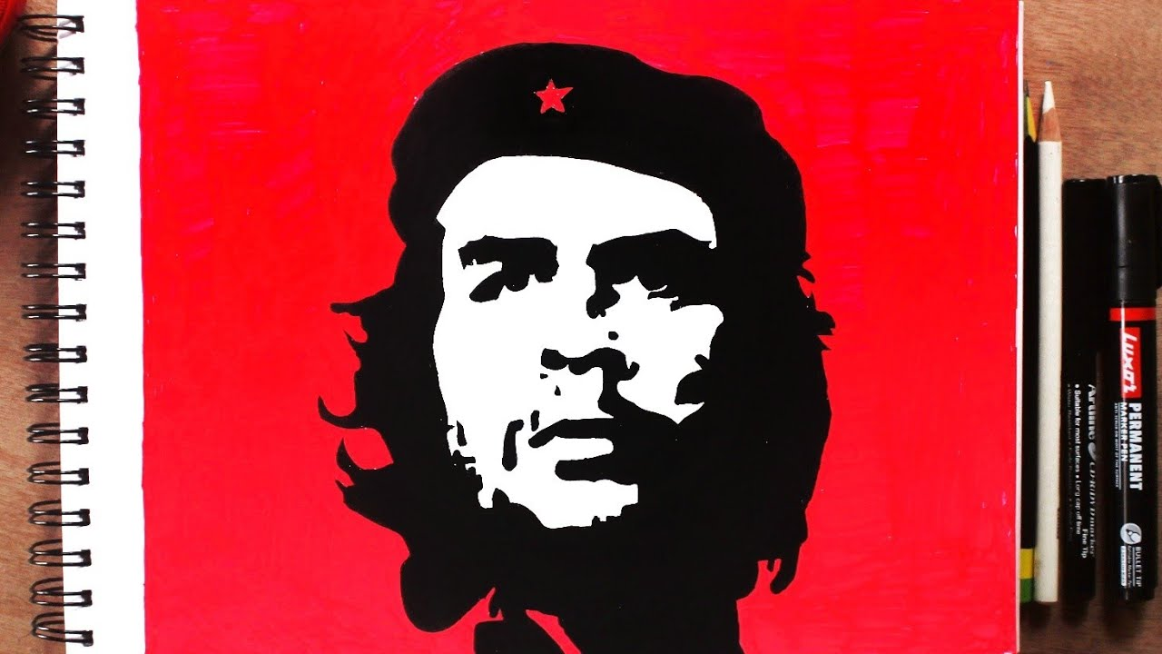 How To Draw Che Guevara Step By Step || Arts By TD - YouTube