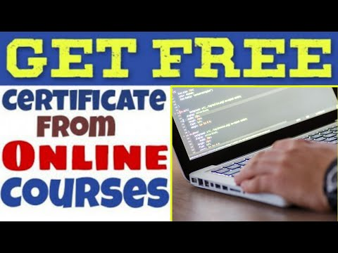 Get Free Certificates From Free online Courses....HINDI  में जानिए...