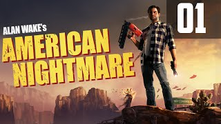 Zagrajmy w Alan Wake's American Nightmare [PC]  #01 - [Gameplay PL / Let