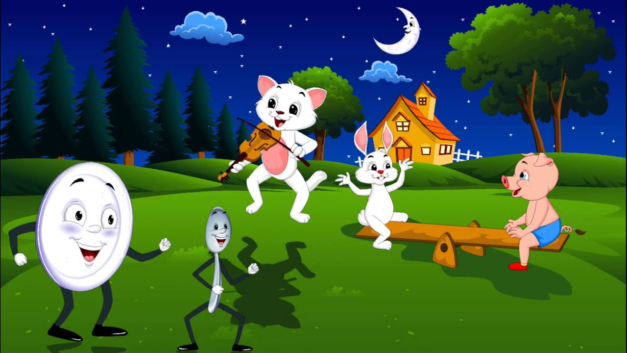 Hey Diddle Diddle - Nursery Rhymes For Kids - YouTube