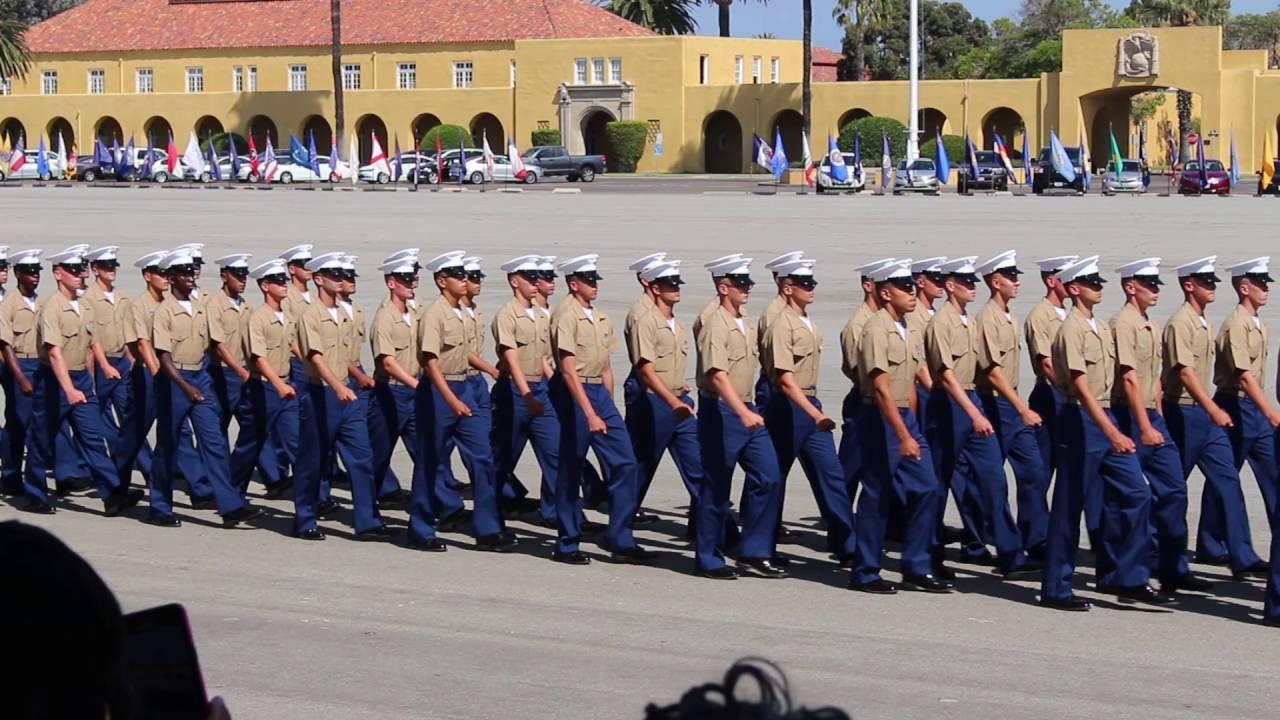 Marine Corps Recruit Depot San Diego Graduation Day, Video ...