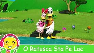O Ratusca Sta Pe Lac - CanteceGradinita.ro